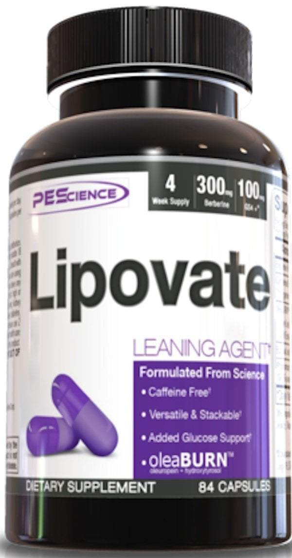 PEScience Fat Burner PEScience Lipovate 84 caps