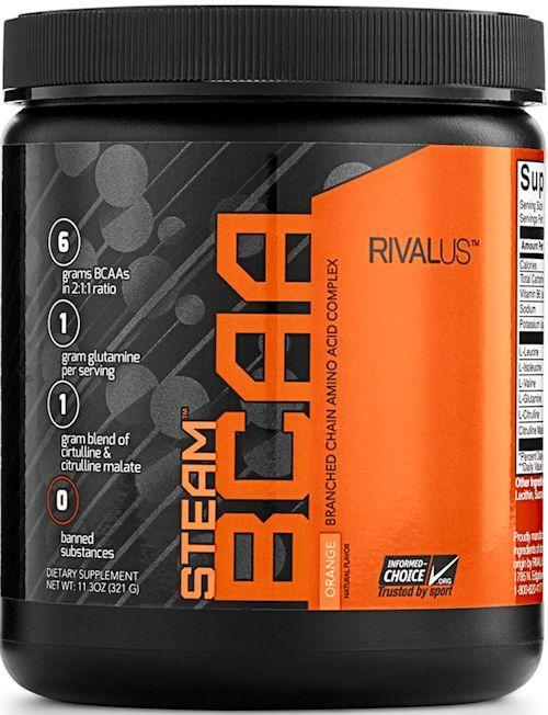 Rivalus BCAA Orange Steam Rivalus BCAA 30 servings
