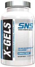 SNS Serious Nutrition Solutions X-Gels 100 softgels