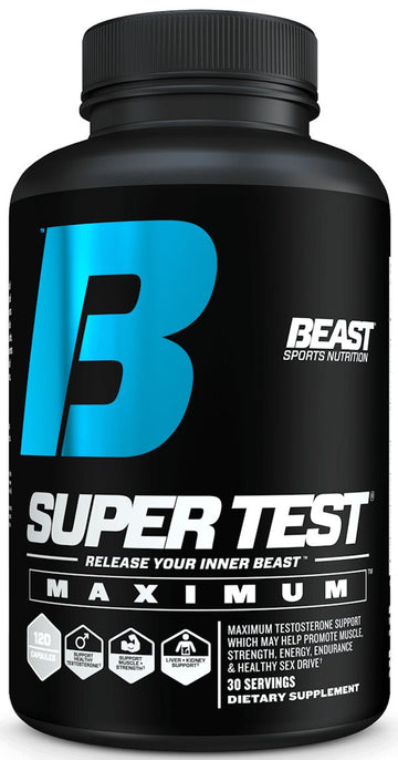 Beast Sports Nutrition Super Test Maximum