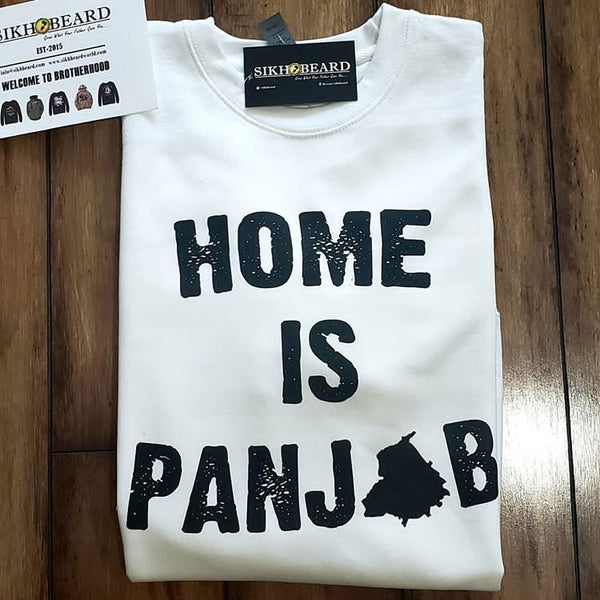 Home is Punjab T-shirt