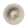 "3 1/2"" Basket Strainer for Deep Fireclay Application"