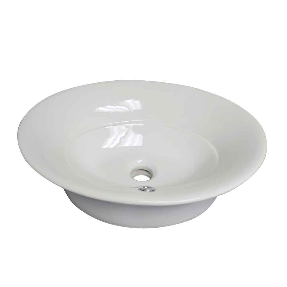 Sante Cruz WH1915R Above Mount Oval Bathroom Basin
