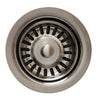 "3 1/2"" Waste Disposer Trim with Matching Basket Strainer"