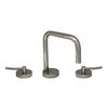 Metrohaus Lavatory Widespread Faucet with Swivel Spout, Pop-up Waste and Lever Handles