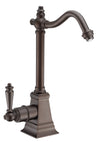 Point of Use Instant Hot Water Drinking Faucet with Traditional Swivel Spout