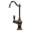 Point of Use Instant Hot Water Faucet with Traditional Spout and Self Closing Handle
