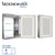 Medicinehaus Recessed Single Mirrored Door Medicine Cabinet with Outlet and LED Power Dimmer for Light