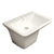 "Isabella Collection 22"" Wall Mount Basin with Integrated Rectangular Bowl and a Center Drain"