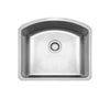 "23"" Noah's Collection Chefhaus Series brushed stainless steel single bowl undermount sink"