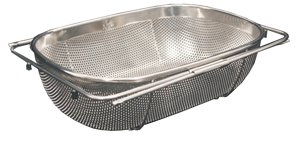 Over the Sink Stainles Steel Extendable Colander/Strainer