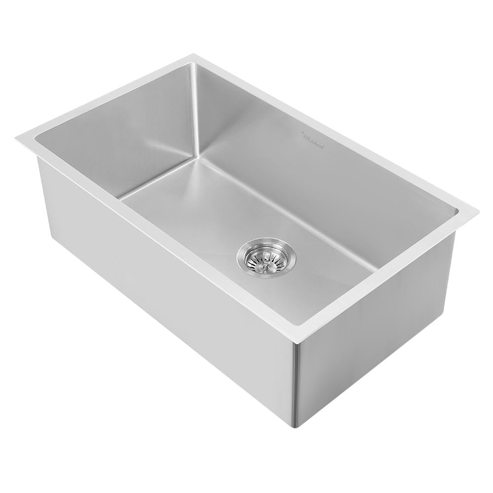 "30"" Noah Plus heavy duty, 6 gauge frame, single bowl dual-mount sink set"