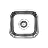 "Noah's Collection 13"" Brushed Stainless Steel Single Bowl Undermount Sink"