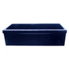 "Quatro Alcove 30"" reversible fireclay kitchen sink with decorative 2½"" Lip"