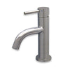 Waterhaus solid stainless steel, single lever small lavatory faucet