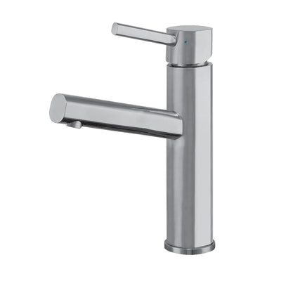 Waterhaus Lead-Free Solid Stainless Steel Single lever Elevated Lavatory Faucet