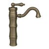 Vintage III Single Hole/Single Lever Elevated Lavatory Faucet with Traditional Spout