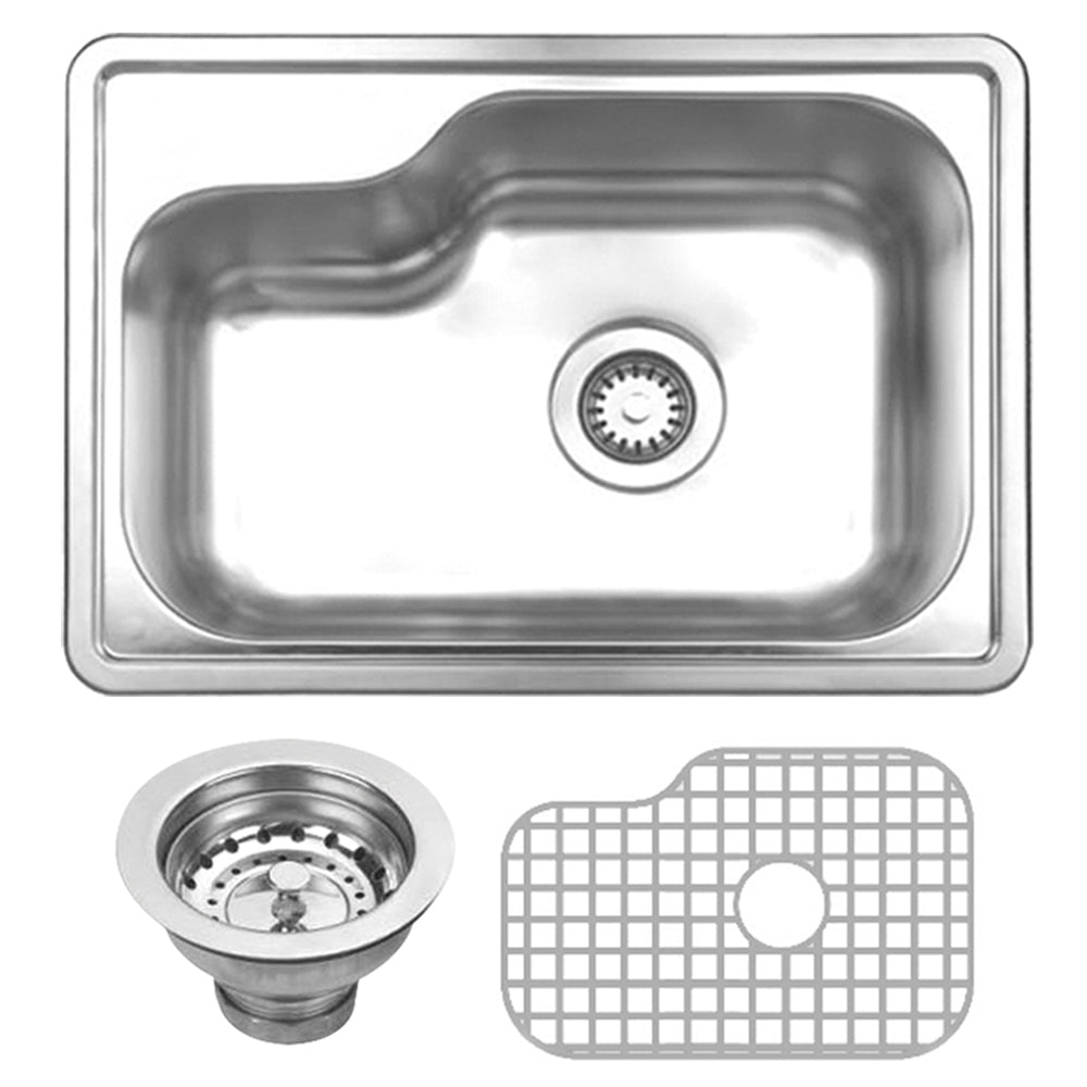 Noah Collection Kitchen 3pc Sink Set