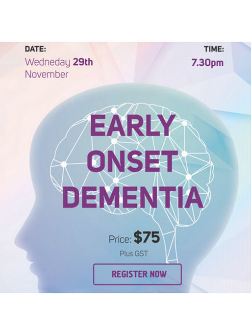 Practitioner Webinar: MTHFR and Early Onset Dementia