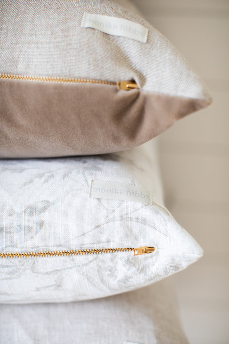 Henry Pillow Cover - Parchment