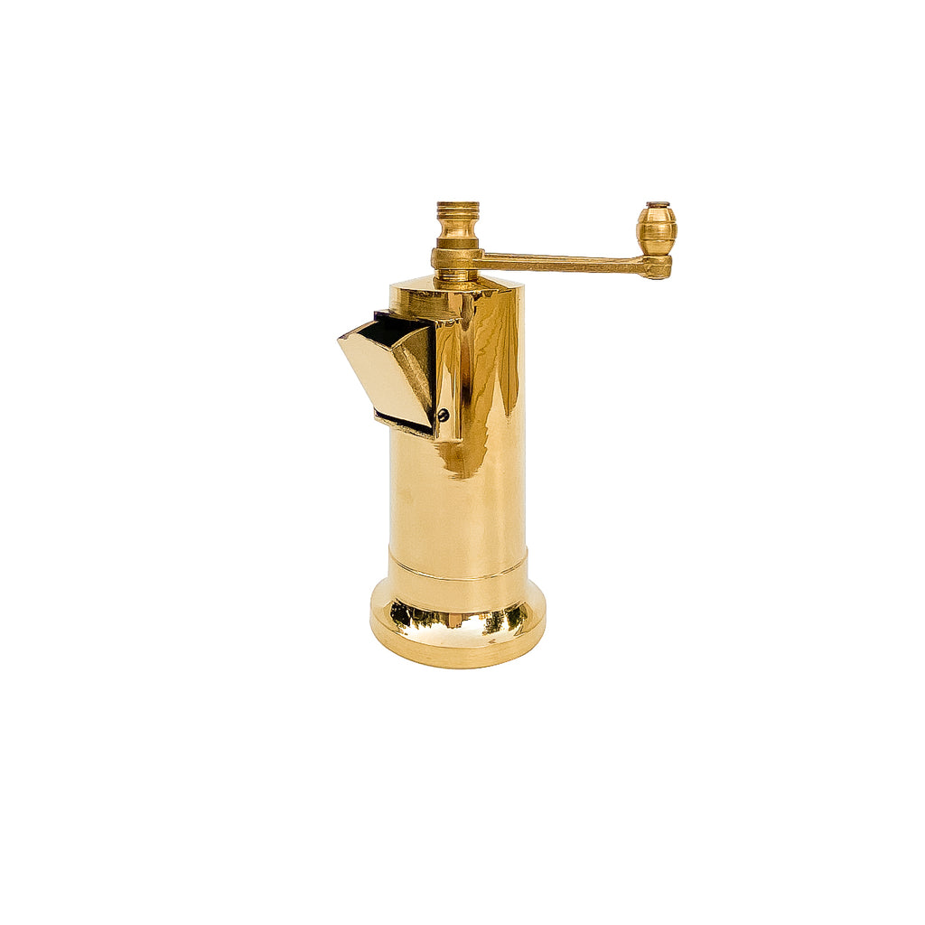 Chef's Mate Brass Pepper Mill