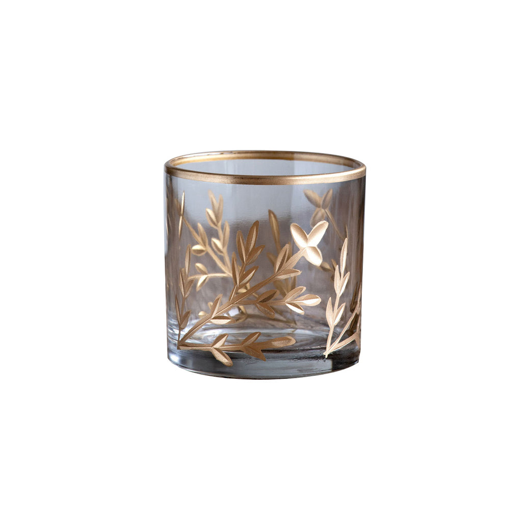 Golden Leaf Vase