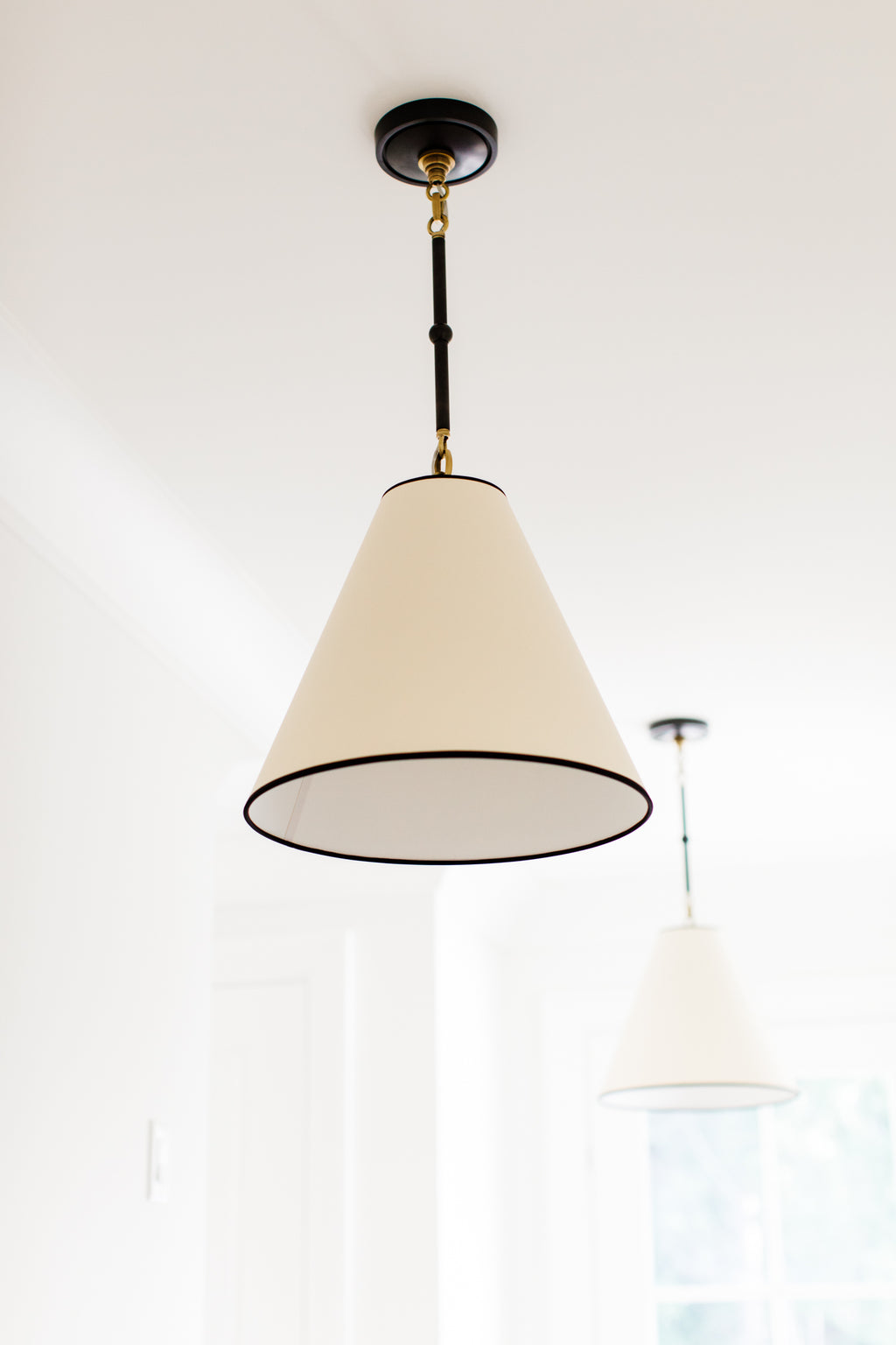 Goodman Pendant with Natural Paper Shade