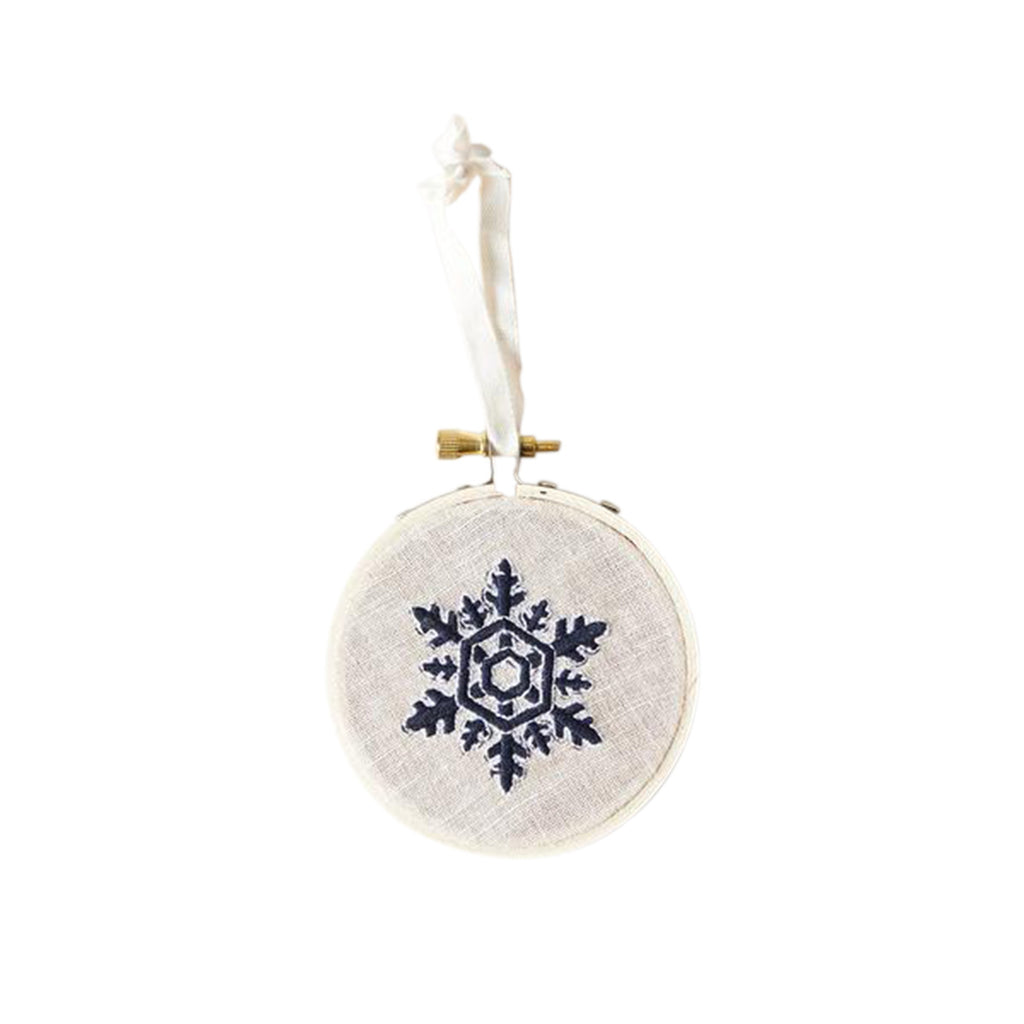 Nordic Embroidered Ornaments
