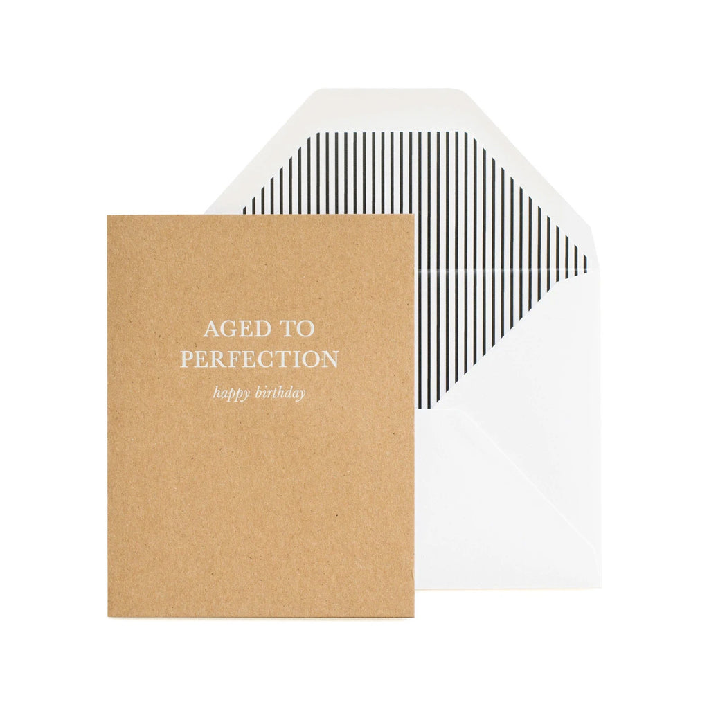 Greeting Card - Aged to Perfection