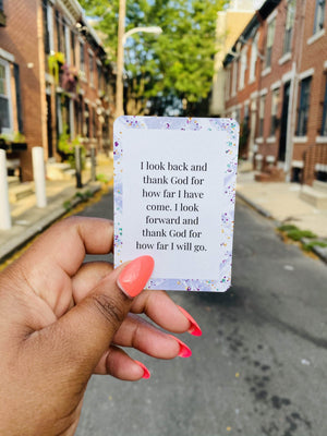 Be Encouraged Affirmation Card Deck - CEOOFMYLIFE