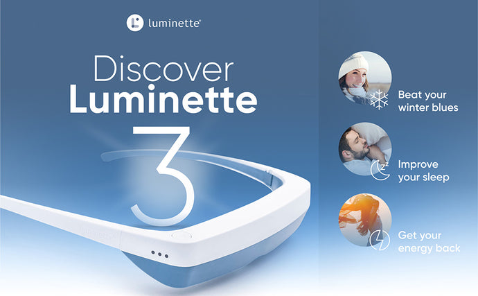 LUMINETTE 3 LIGHT THERAPY GLASSES