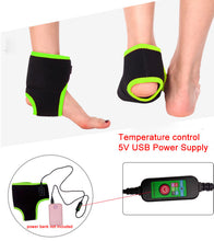 Load image into Gallery viewer, INFRARED HEAT THERAPY WRAP ANKLE & FOOT