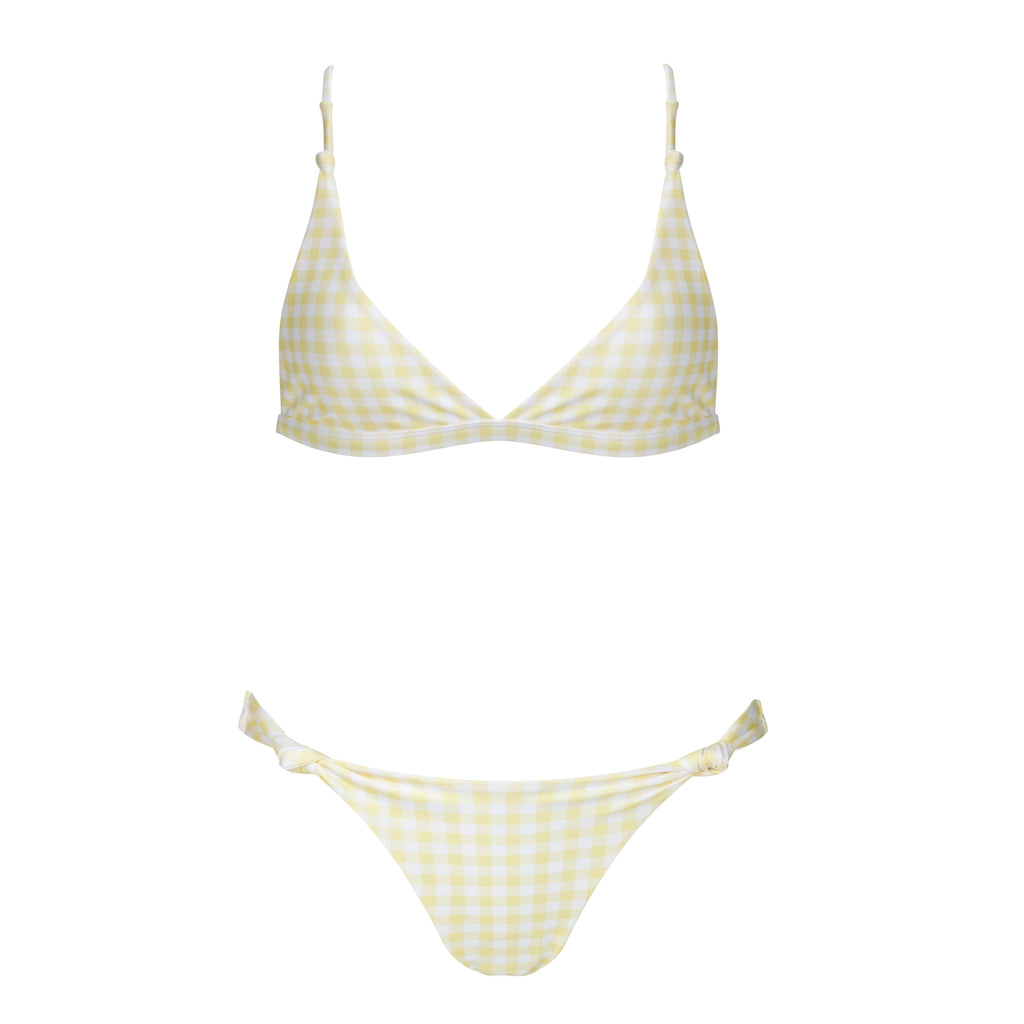 LEMON SHERBERT TOP - Molly J Swim