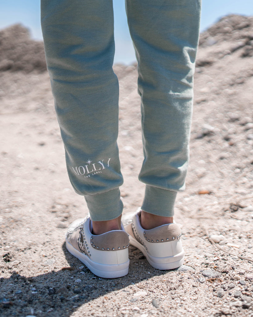 MOLLY J THE LABEL JOGGERS - SAGE