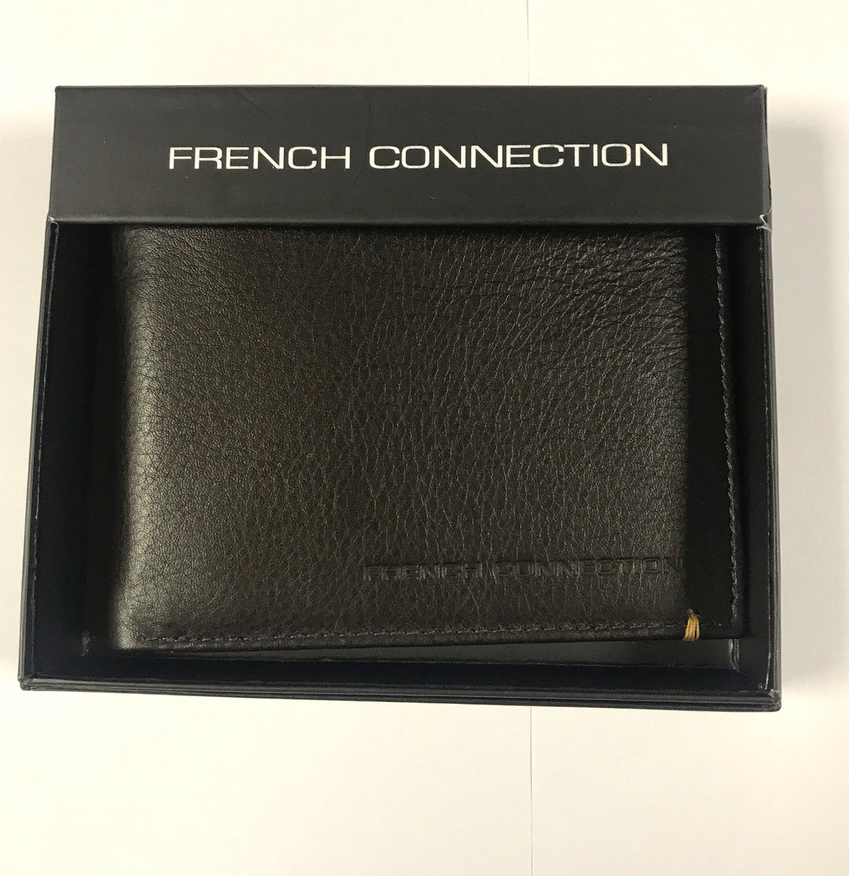 French Connection Dark Brown Mens Wallet
