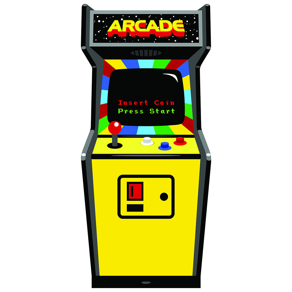 80s Color Golden Age Video Arcade Game