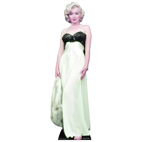 Marilyn Monroe White Gown