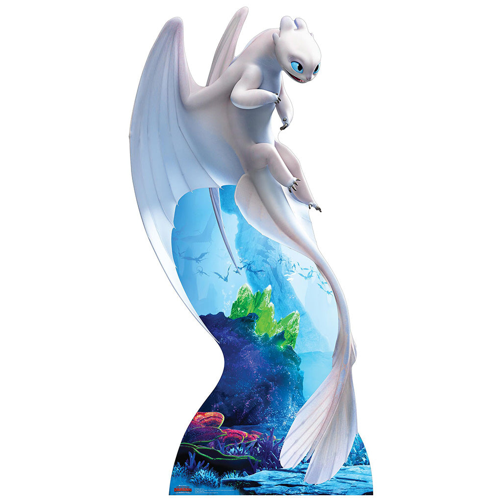 Light Fury White Dragon