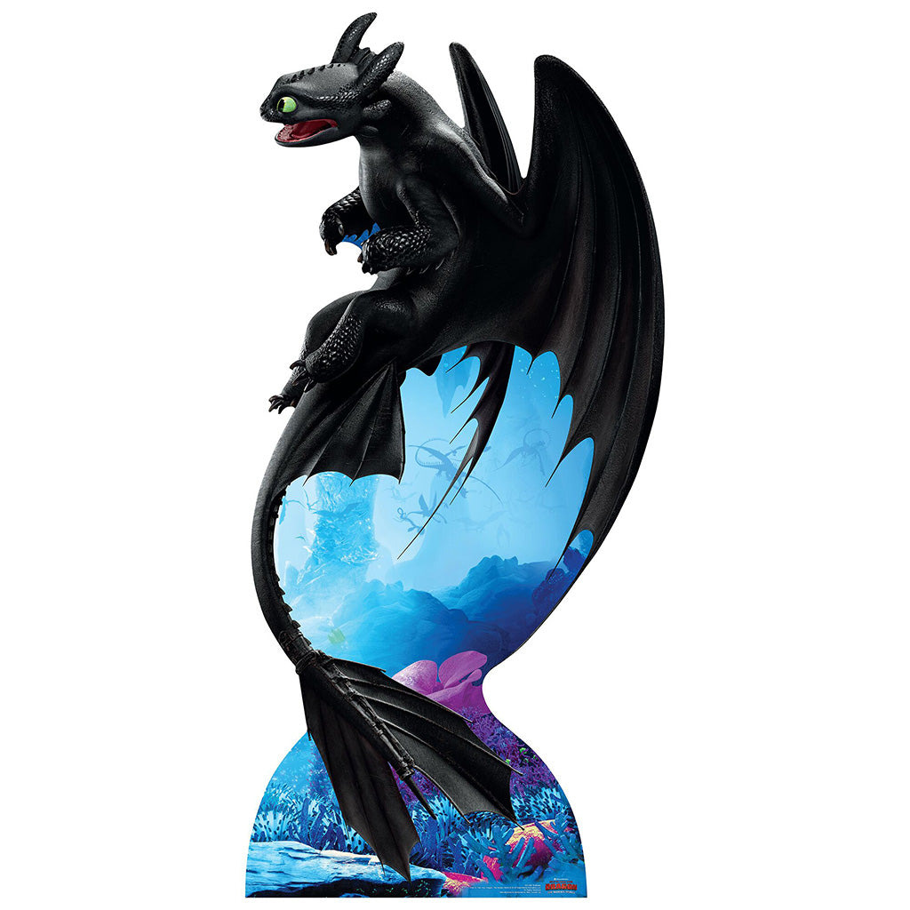 Toothless Night Fury Soars