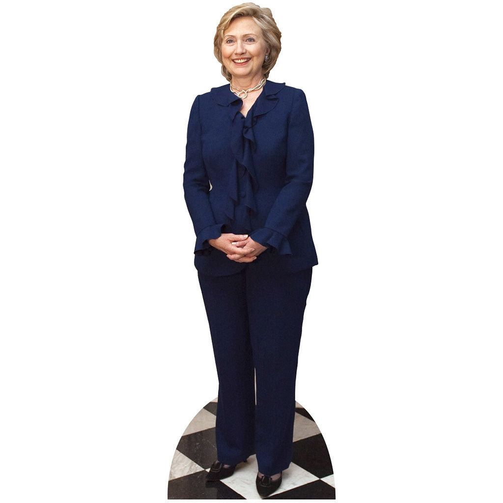 Hillary Clinton Blue Suit