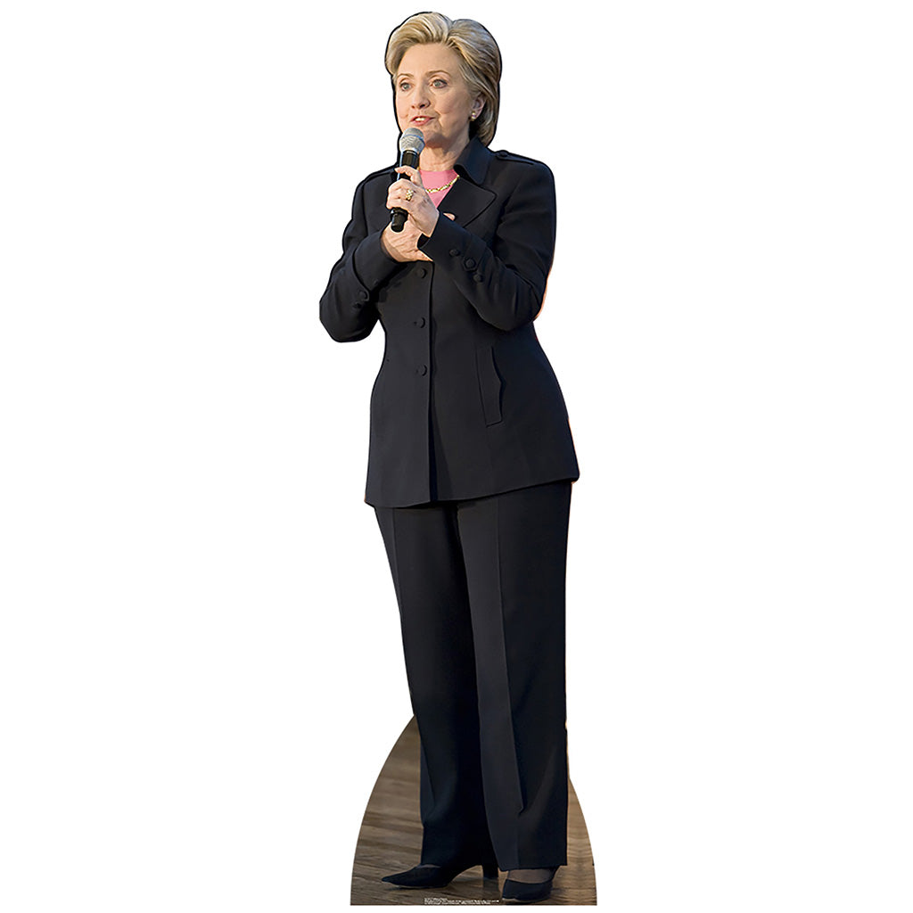 Hillary Clinton Black Suit