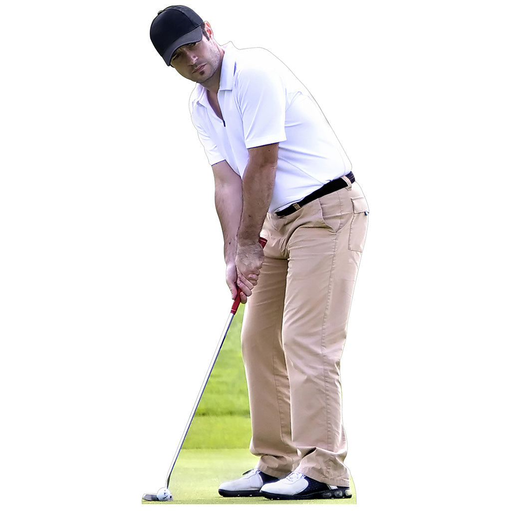 Golf Player Putting