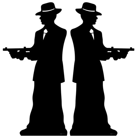 Gangster Silhouette (Double Pack)