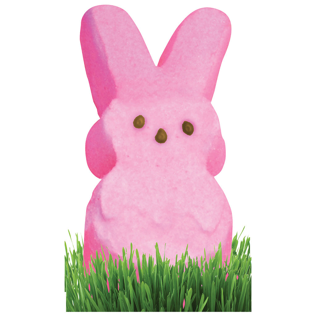 Pink Marshmallow Bunny Stand-In
