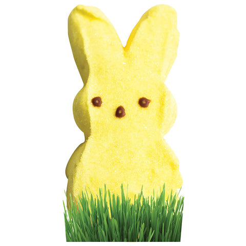 Yellow Marshmallow Bunny Stand-In