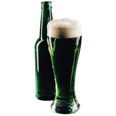 Green Pint & Bottle
