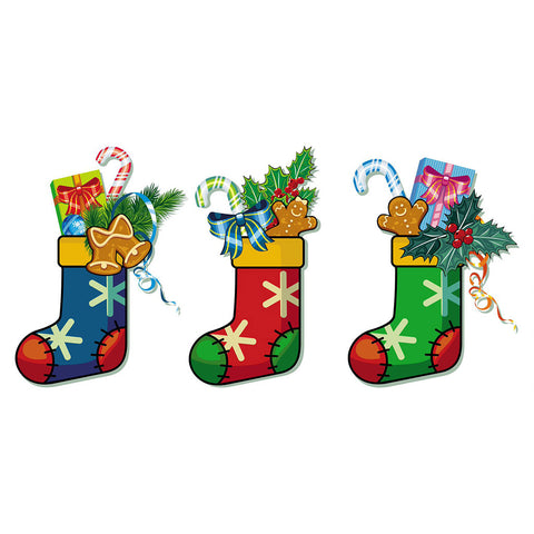 Christmas Stocking 3pcs