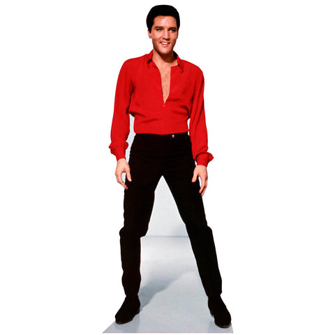 Elvis Red Shirt Viva Las Vegas