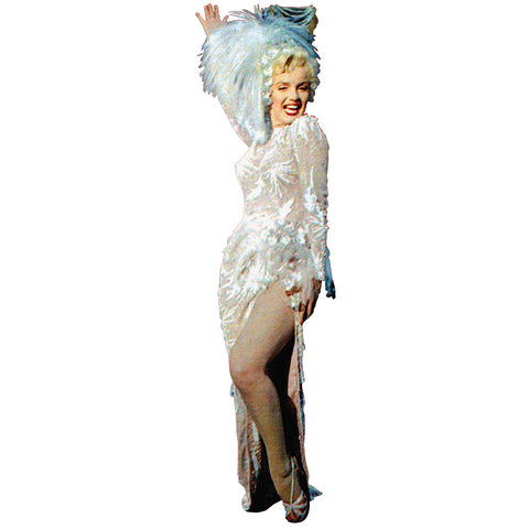 Marilyn Monroe White Gown Singing