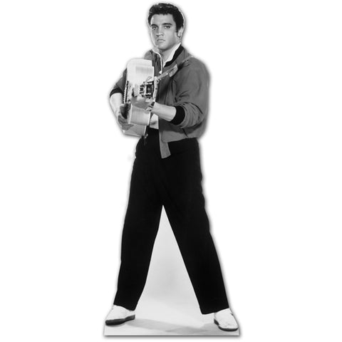 Elvis Shooting Guitar